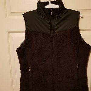 Columbia fuzzy vest xl